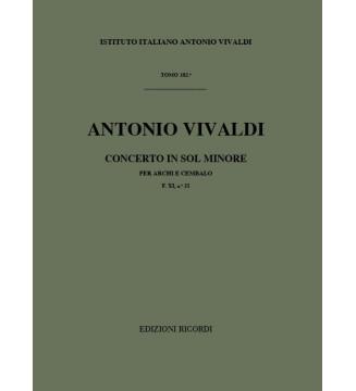 Concerti Per Archi e B.c.:...