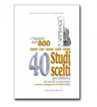 40 Studi Scelti Per Chitarra