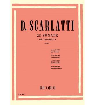 25 Sonate Per Clavicembalo