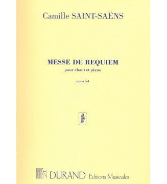 Saëns, Camille  Messe De...