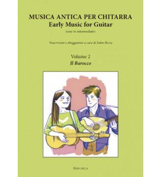 MUSICA ANTICA PER chitarra,...