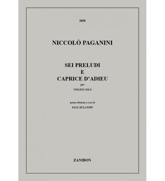 Telemann, Georg Philipp - Zwölf Fantasien für Violine ohne Bass TWV 40:14 - 40:25 (1735)