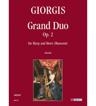 Grand Duo Op. 2 for Arpa...