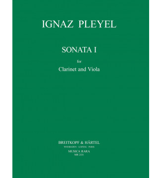 Sonata 1 in Eb major B (5491)