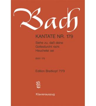 """Cantata BWV 179 """"Siehe..."""