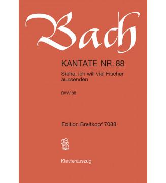 """Cantata BWV 88 """"Siehe, ich..."""