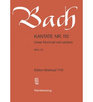 "Cantata BWV 110 ""Unser Mund..."
