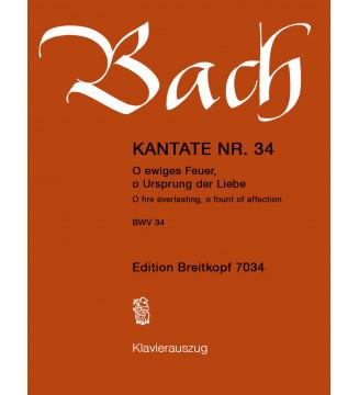 """Cantata BWV 34 """"O fire..."""