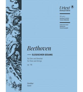 Elegischer Gesang Op. 118...