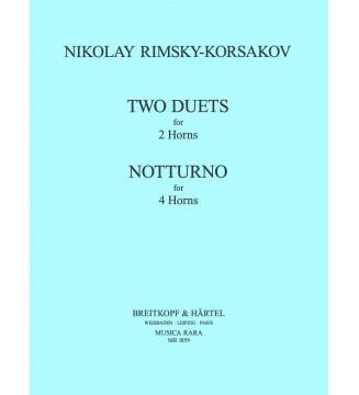 2 Duets, Notturno
