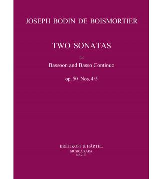 Sonatas in D minor and C...