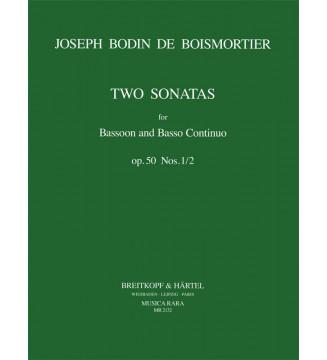 2 Sonatas Op. 50/1-2