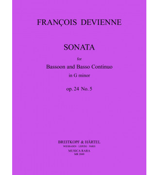Sonata in G minor Op. 24 No. 5