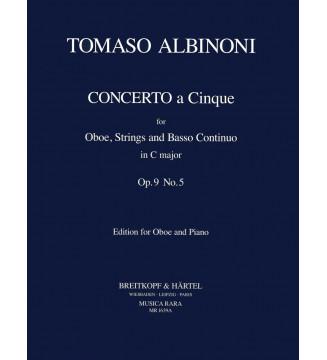 Concerto a 5 in C Op. 9/5