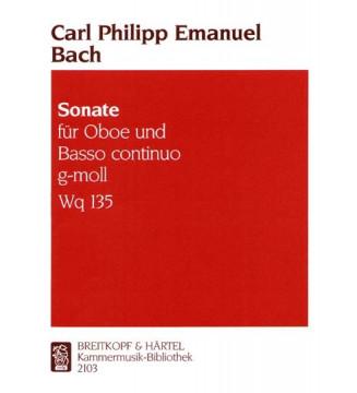 Sonata in G minor Wq 135