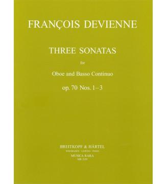 3 Sonatas Op. 70 Nos. 1-3