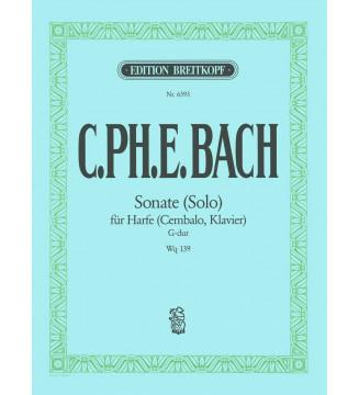 Sonata (Solo) in G major Wq...