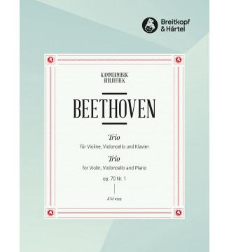 Piano Trio in D major Op. 70/1