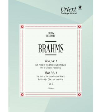 Piano Trio No. 1 in B major...