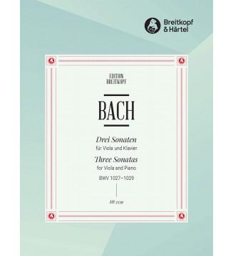 3 Sonatas BWV 1027-1029