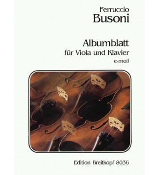 Album Leaf in E minor K 272