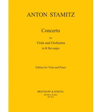Viola Concerto in Bb major