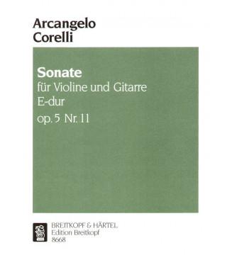 Sonata in E major Op. 5/11