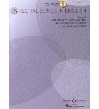 15 Recital Songs in English