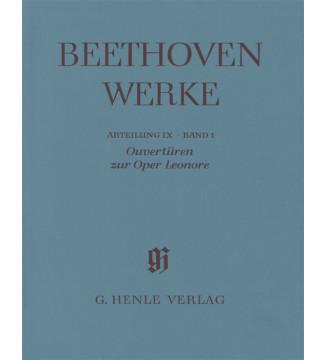 Ouvertüren zur Oper Leonore