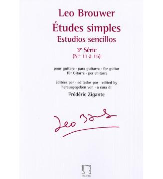 Estudios sencillos - Études...