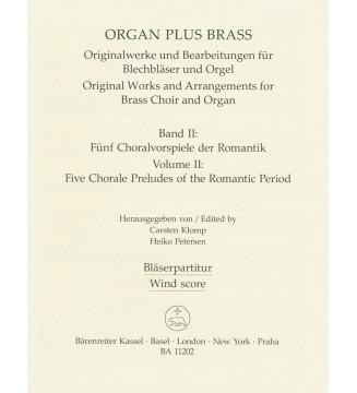 organ plus brass, Volume...