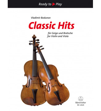 Classic Hits for Violin and...