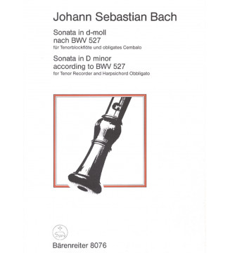Sonata für Tenorblockflöte...