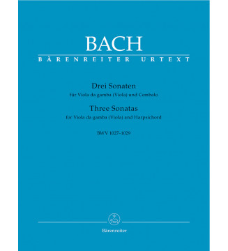 Three Sonatas for Viola...