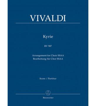 Kyrie RV 587 (Arrangement...
