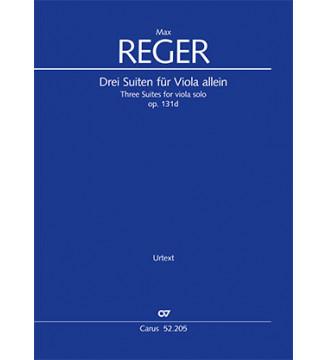 Reger: Three Suites for...