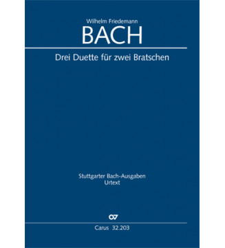 Bach, W. F.: Drei Duette...