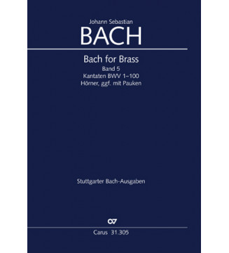 Bach for Brass 5: Cantatas...