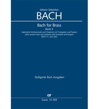 Bach for Brass 3: Latin...