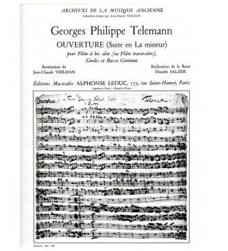 Telemann Suite In a Minor...