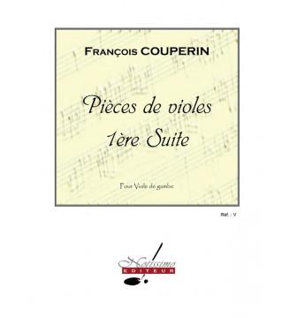Pieces De Violes Suite N01