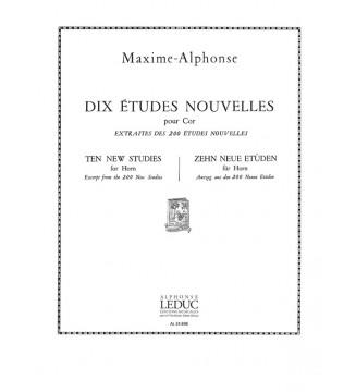Maxime-Alphonse: 10 Etudes...