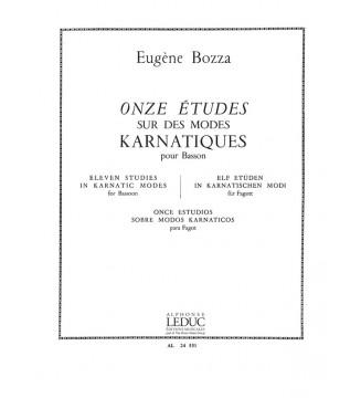 Eugene Bozza: 11 Etudes sur...