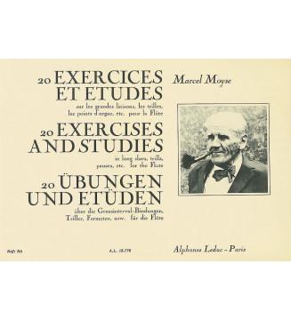 Exercises(20) & Etudes Sur Les
