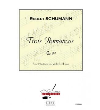 Schumann 3 Romances Op 94...