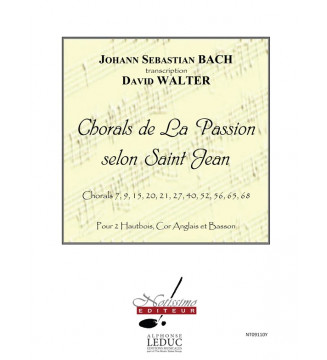 Chorals de La Passion Selon...