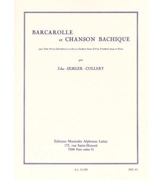 Barcarolle and Bacchanalian...
