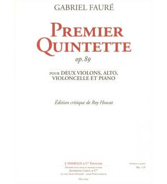 Premier Quintette N°1 Op. 89