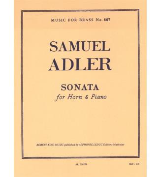Sonata (Horn and Piano)
