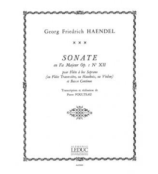 Sonata Op.1, No.12 in F major